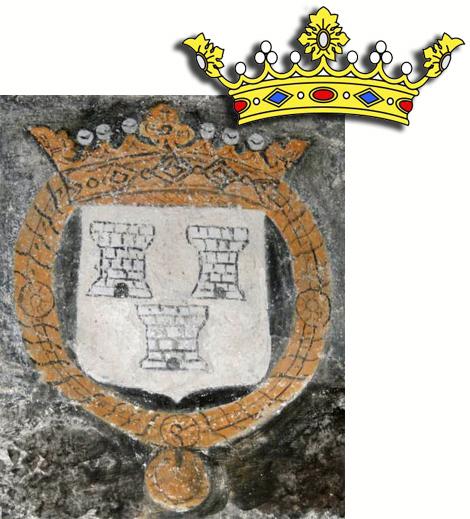 Fresque couronne église