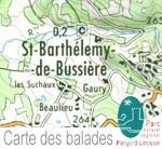 Randonnées autour de St-Barthélemy